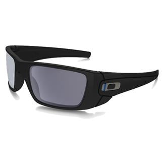 Oakley SI Fuel Cell Thin Blue Line Blue-Black (frame) - Gray (lens)