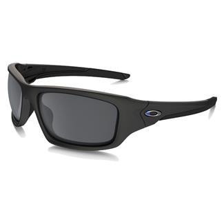 Oakley SI Valve Thin Blue Line Blue-Black (frame) - Black Iridium (lens)