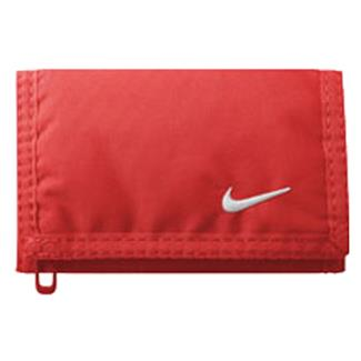 NIKE Basic Wallet Bright Crimson / White