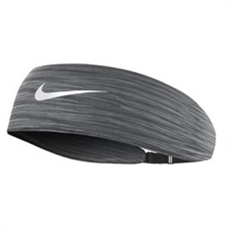 NIKE Adjustable Fury Headband Dark Gray / Wolf Gray / White