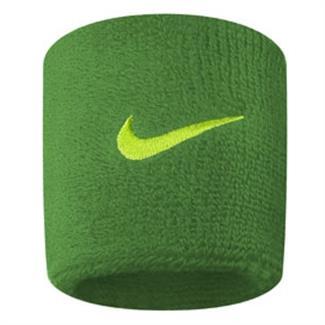 NIKE Swoosh Wristband (2 pack) Spring Leaf / Voltage Green