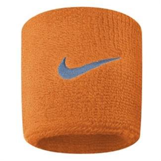 NIKE Swoosh Wristband (2 pack) Vivid Orange / Ocean Fog