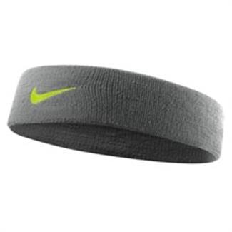 NIKE Dri-FIT Headband 2.0 Cool Gray / Volt