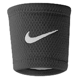 NIKE Dri-FIT Stealth Wristband Black / White