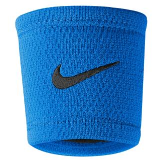 NIKE Dri-FIT Stealth Wristband Photo Blue / Black