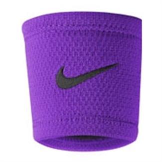 NIKE Dri-FIT Stealth Wristband Cosmic Purple / Black