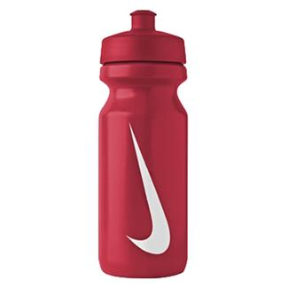 NIKE Big Mouth 22 oz. Water Bottle Sport Red / White