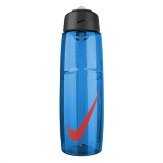 NIKE T1 Flow Swoosh 32 oz. Water Bottle Game Royal / Light Crimson