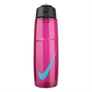 NIKE T1 Flow Swoosh 32 oz. Water Bottle Vivid Pink / Gamma Blue
