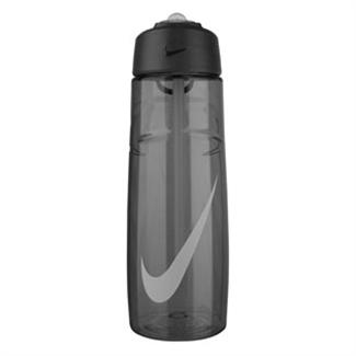 NIKE T1 Flow Swoosh 24 oz. Water Bottle Anthracite / Wolf Gray