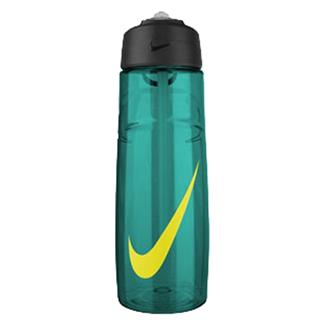 NIKE T1 Flow Swoosh 24 oz. Water Bottle Rio Teal / Volt