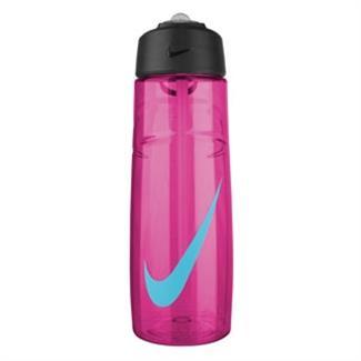 NIKE T1 Flow Swoosh 24 oz. Water Bottle Vivid Pink / Gamma Blue