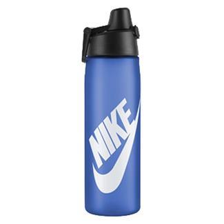 NIKE Core Hydro Flow Futura Water Bottle Game Royal / White