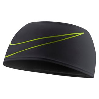 NIKE Dri-FIT Swoosh Running Headband Black / Volt