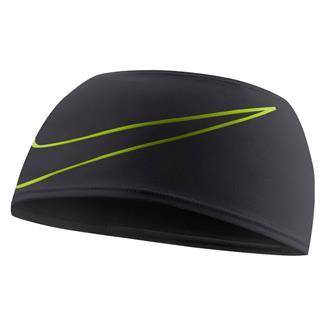 NIKE Dri-FIT Swoosh Running Headband Black / Volt