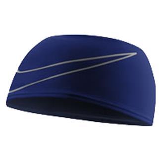 NIKE Dri-FIT Swoosh Running Headband Deep Royal Blue / Silver