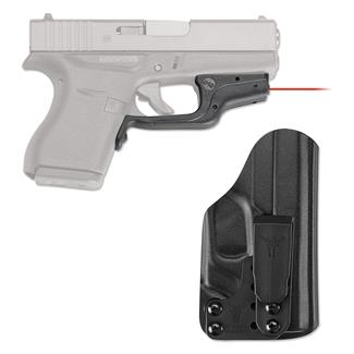 Crimson Trace LG-443-HBT Laserguard with IWB Holster Red Black