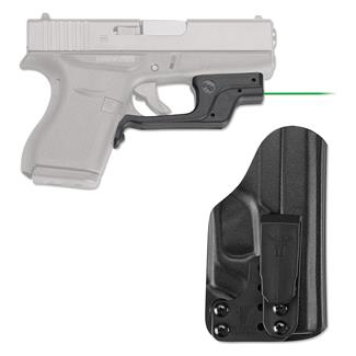 Crimson Trace LG-443G-HBT Laserguard with IWB Holster Green Black