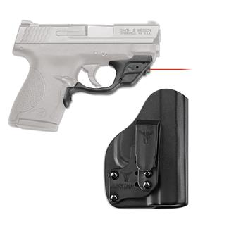 Crimson Trace LG-489-HBT Laserguard with IWB Holster Red Black