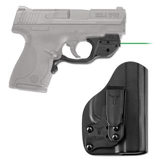 Crimson Trace LG-489G-HBT Laserguard with IWB Holster Black Green
