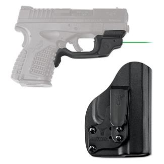 Crimson Trace LG-469G-HBT Laserguard with IWB Holster Black Green