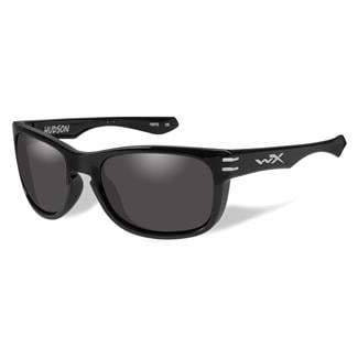 Wiley X Hudson Gloss Black (frame) - Smoke Gray (lens)