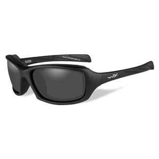 Wiley X Sleek Matte Black (frame) - Smoke Gray (lens)