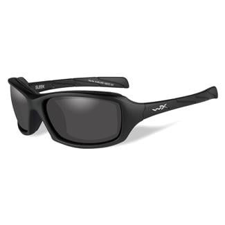 Wiley X Sleek Matte Black (frame) - Smoke Gray (lens)