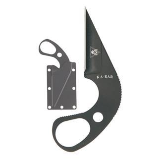 Ka-Bar TDI LDK Last Ditch Knife Black Plain Edge