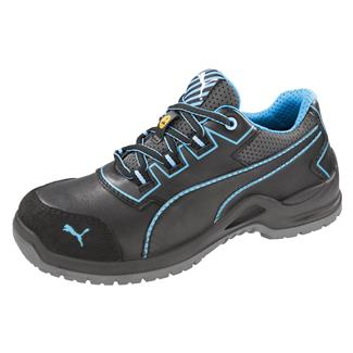 Puma Safety Niobe Low ST Black / Blue