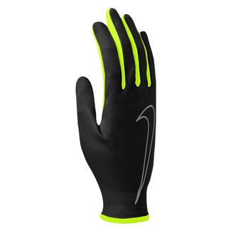 NIKE Rally Run Gloves Black / Volt