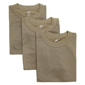 TG Crew Neck T-Shirts (3 Pack) Coyote Tan