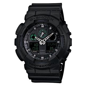 Casio Tactical Military Series G-Shock GA100MB Black