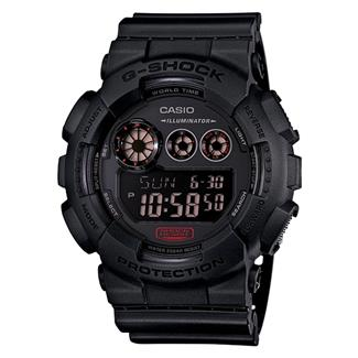 Casio Military Series G-Shock Auto LED GD120MB Black