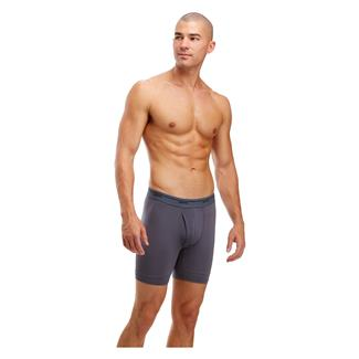 Soffe Compression Boxer Briefs Gunmetal