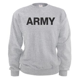 Soffe Army Sweatshirt Ash