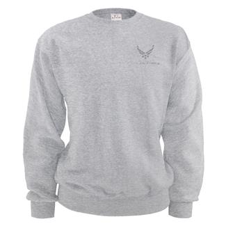 Soffe Air Force Sweatshirt Ash