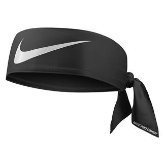 NIKE Pro Combat Dri-FIT Head Tie 3.0 Black / White
