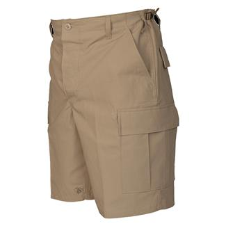 TRU-SPEC Cotton Ripstop BDU Shorts (Zip Fly) Khaki