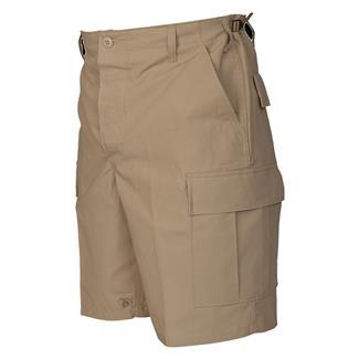 Tru-Spec Cotton Ripstop BDU Shorts (Zip Fly) Khaki