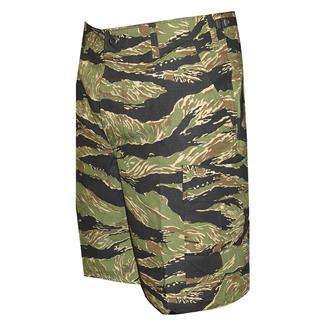 TRU-SPEC Cotton Ripstop BDU Shorts (Zip Fly) Original Vietnam Tiger Stripe