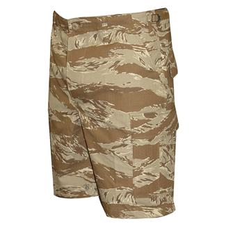 TRU-SPEC Cotton Ripstop BDU Shorts (Zip Fly) Original Desert Tiger Stripe