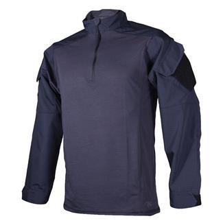 Tru-Spec Poly / Cotton 1/4 Zip Urban Force Combat Shirt Navy
