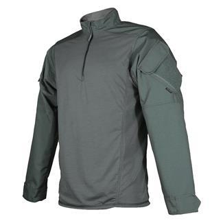 Tru-Spec Poly / Cotton 1/4 Zip Urban Force Combat Shirt Olive Drab