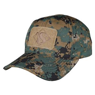 TRU-SPEC Poly / Cotton Contractor's Cap Woodland Digital