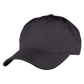 TRU-SPEC Poly / Cotton Ripstop Cap Black