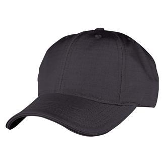 TRU-SPEC Poly / Cotton Ripstop Cap Black