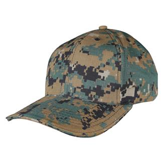 TRU-SPEC Poly / Cotton Ripstop Cap Woodland Digital