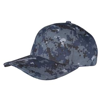 TRU-SPEC Poly / Cotton Ripstop Cap Midnight Digital