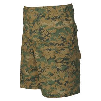Tru-Spec Poly / Cotton Twill BDU Shorts Woodland Digital